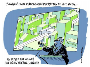 2017 – Ideecafé – 11 december – Leiden Centraal Park: op naar de duurzaamste kilometer