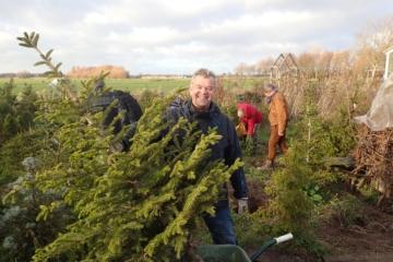 Kerstbomenasiel Vrij Groen gaat Coronaproof open: reserveer een tijd
