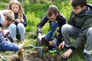 Kinderen planten de toekomst